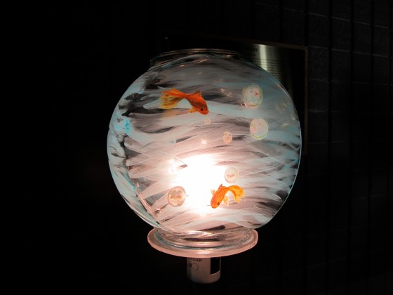 Fish Bowl Lampshade