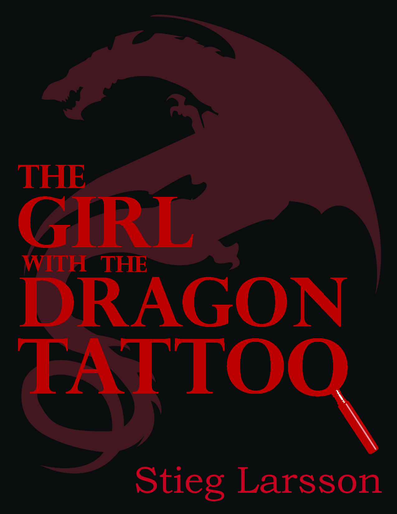 The Girl with the Dragon Tattoo BookCover